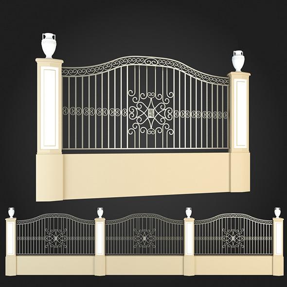 3DOcean Fence 008 6064110