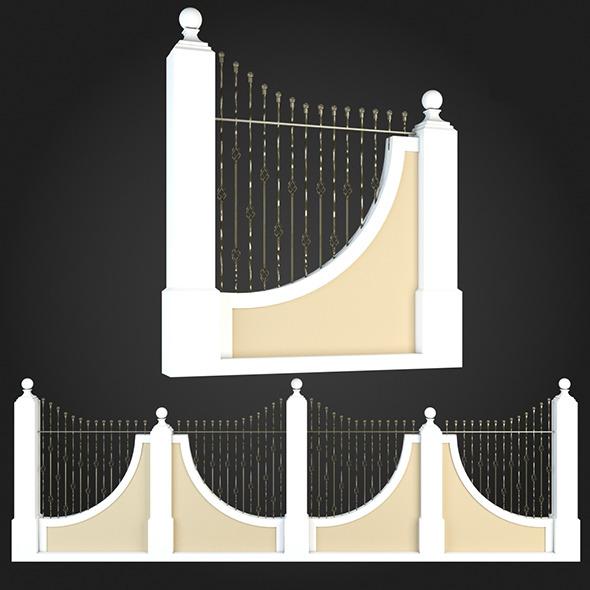 3DOcean Fence 013 6064161