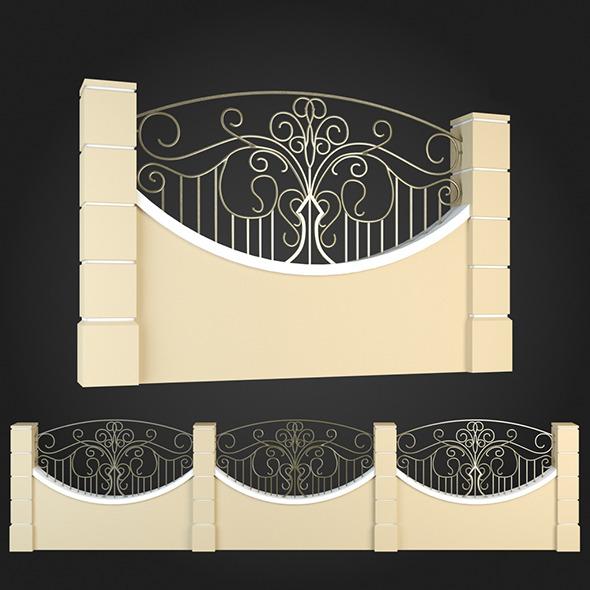 3DOcean Fence 014 6064165