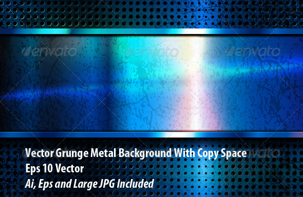 GraphicRiver Metal Background 6064169
