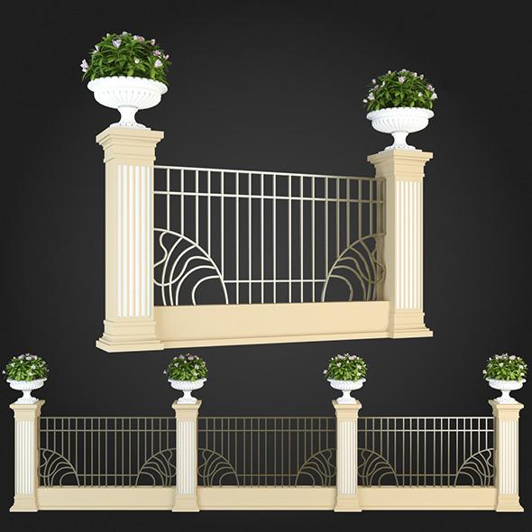 3DOcean Fence 015 6064441