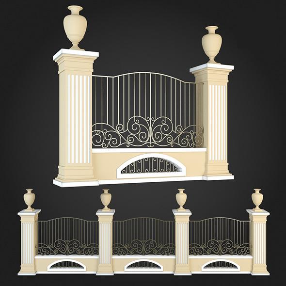 3DOcean Fence 017 6064509