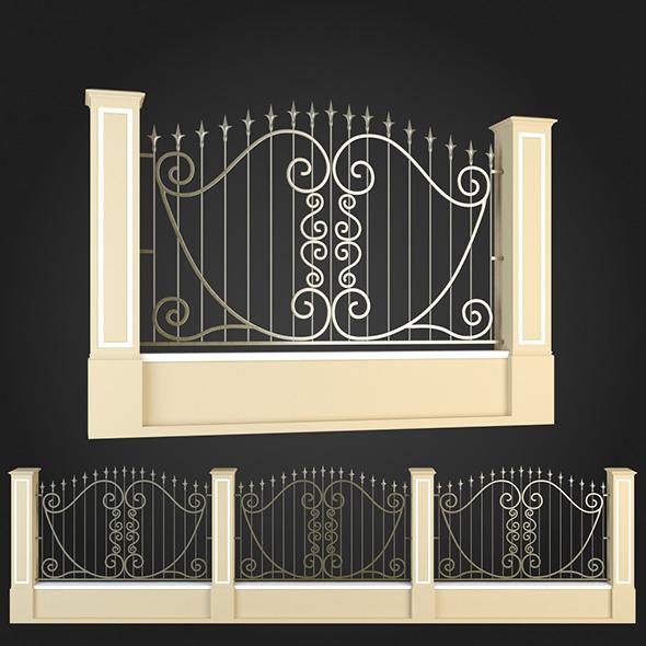 3DOcean Fence 018 6064521