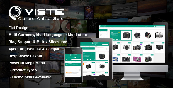 SM Viste - Responsive Multi-Purpose Magento Theme - Technology Magento