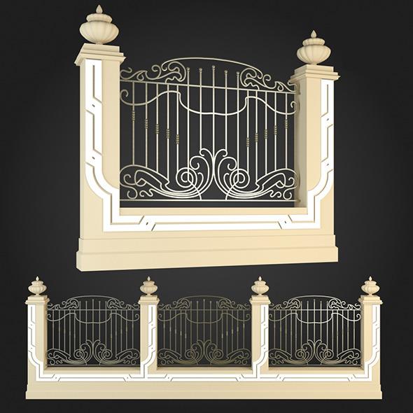 3DOcean Fence 020 6064694