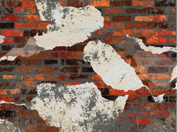 GraphicRiver Old brick wall 6065007