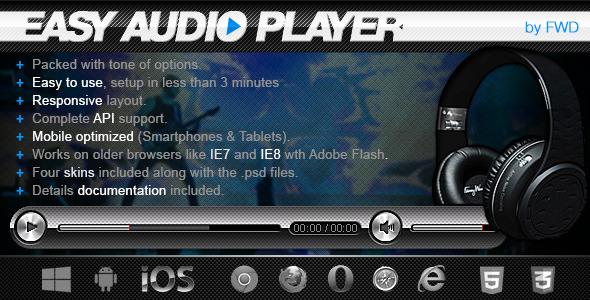 CodeCanyon Easy Audio Player 6065146