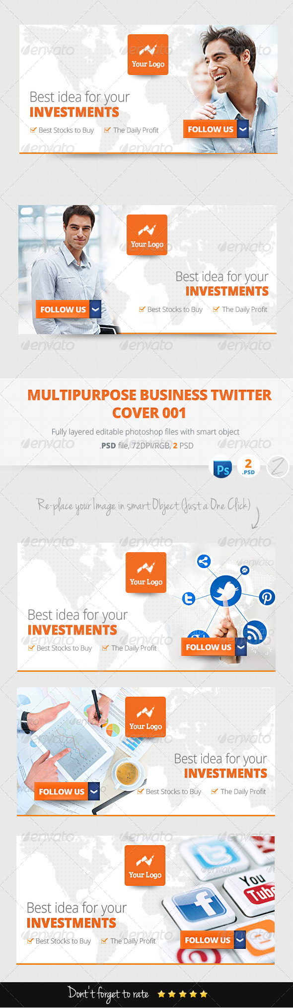 GraphicRiver Multipurpose Business Marketing Twitter Cover 001 6065376