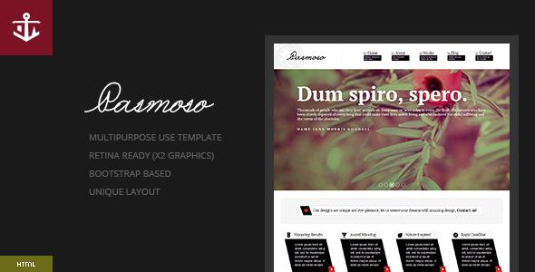Pasmoso | Multipurpose Elegant HTML Template