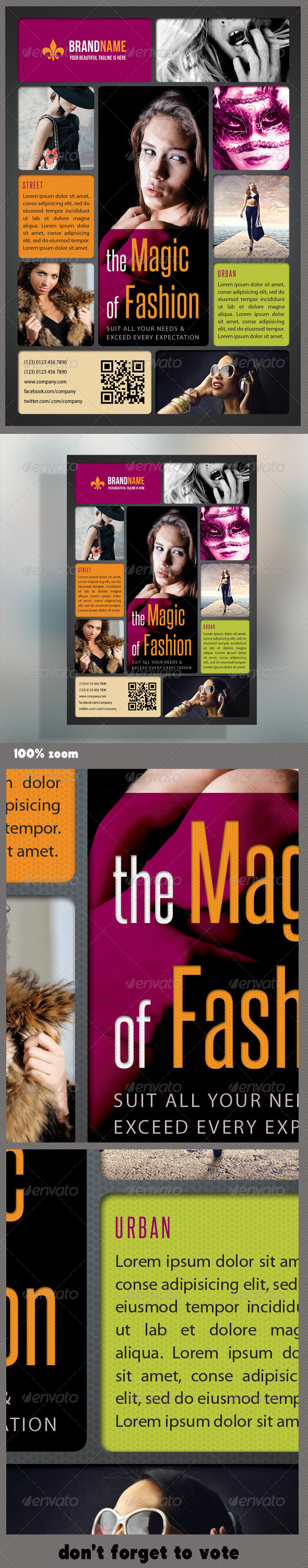 GraphicRiver Fashion Product Flyer 11 6038886
