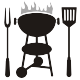 Barbecue Silhouettes - GraphicRiver Item for Sale