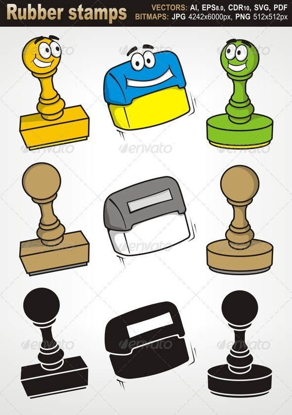GraphicRiver Rubber Stamps 6065923
