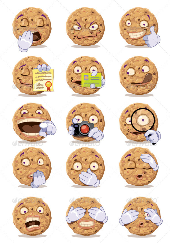 GraphicRiver Cookies 6066021