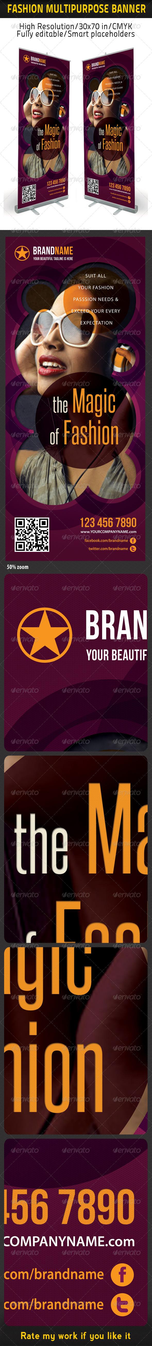GraphicRiver Fashion Multipurpose Banner Template 14 6066061