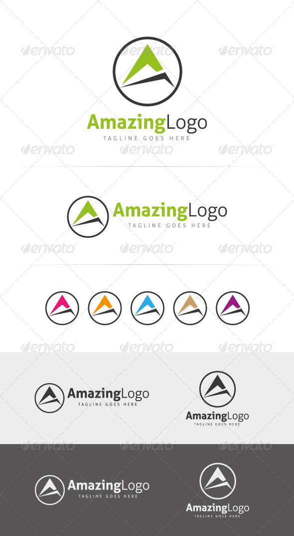 GraphicRiver Amazing Logo Template 6066231
