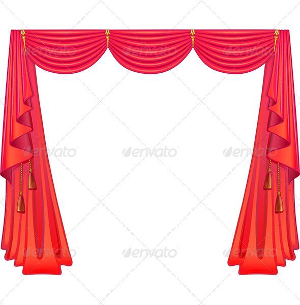 GraphicRiver Scarlet Curtains 6066510