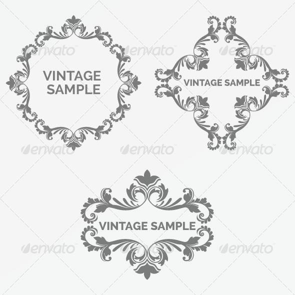 GraphicRiver Vintage Frame 76 6066627