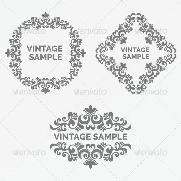 GraphicRiver Vintage Frame 78 6066657