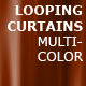 Curtains Background - Multi Color - VideoHive Item for Sale