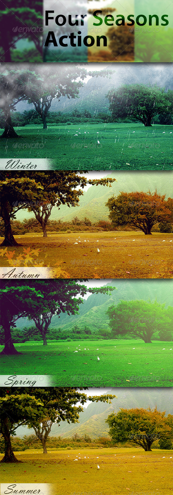 GraphicRiver Four Seasons Action 6060159