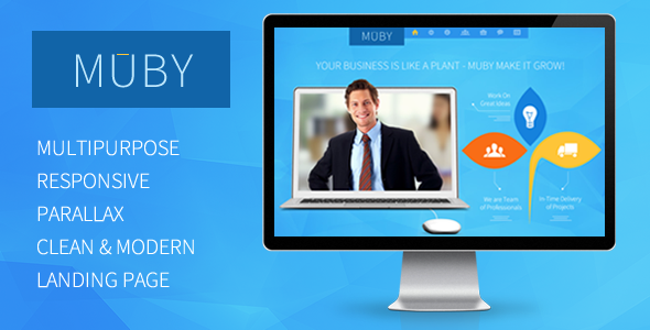 ThemeForest Muby Multi-Purpose One-Page Template 6000229