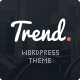 Trend - Flat & Clean WP Theme + PageBuilder - ThemeForest Item for Sale