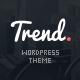 Trend - Flat & Clean WP Theme + PageBuilder