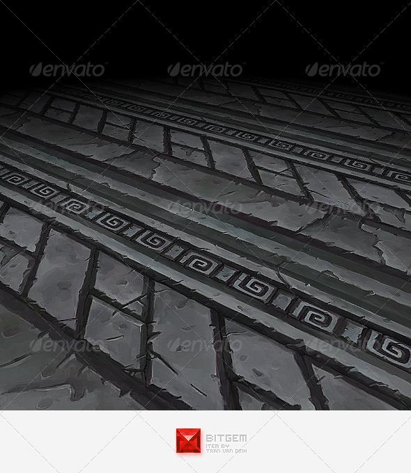 3DOcean Ornament Texture Tile 02 6067793