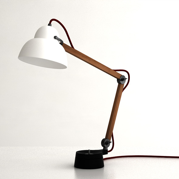 3DOcean Studio Ilse Desk Lamp 6067984