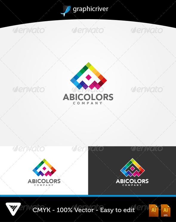 GraphicRiver AbiColors Logo 6068002