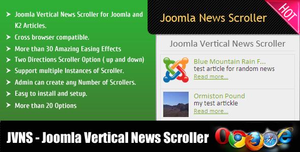 CodeCanyon Joomla Vertical News Scroller 6068017