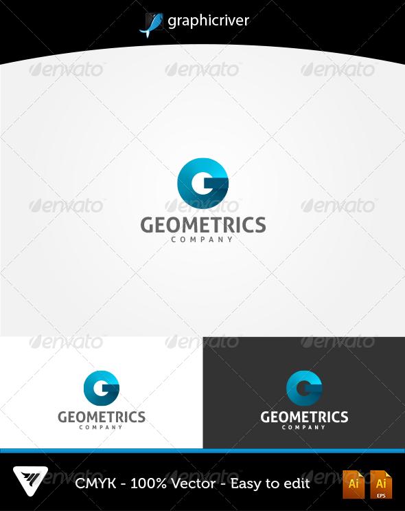 GraphicRiver Geometrics Logo 6068339