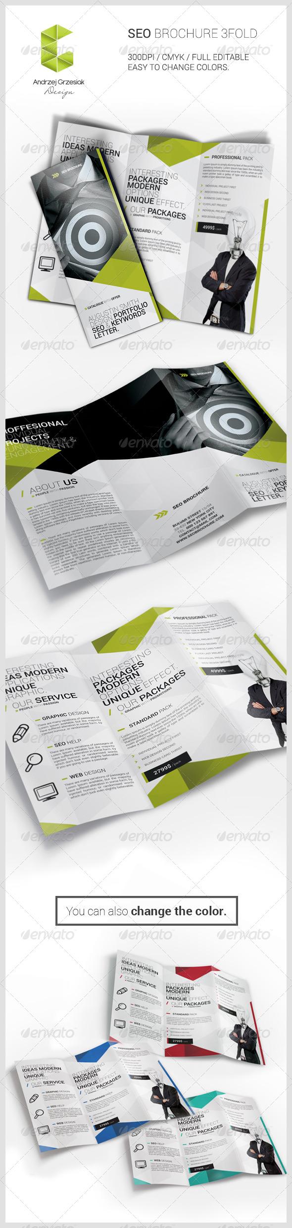 GraphicRiver Seo Brochure 6068416
