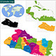 El Salvador Map - GraphicRiver Item for Sale