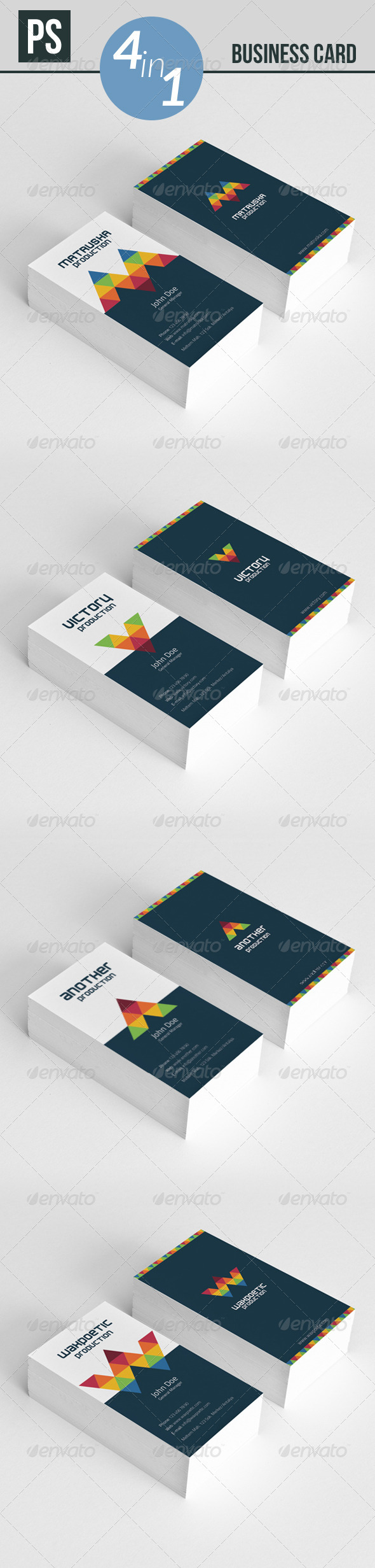 GraphicRiver Business Card 6068667