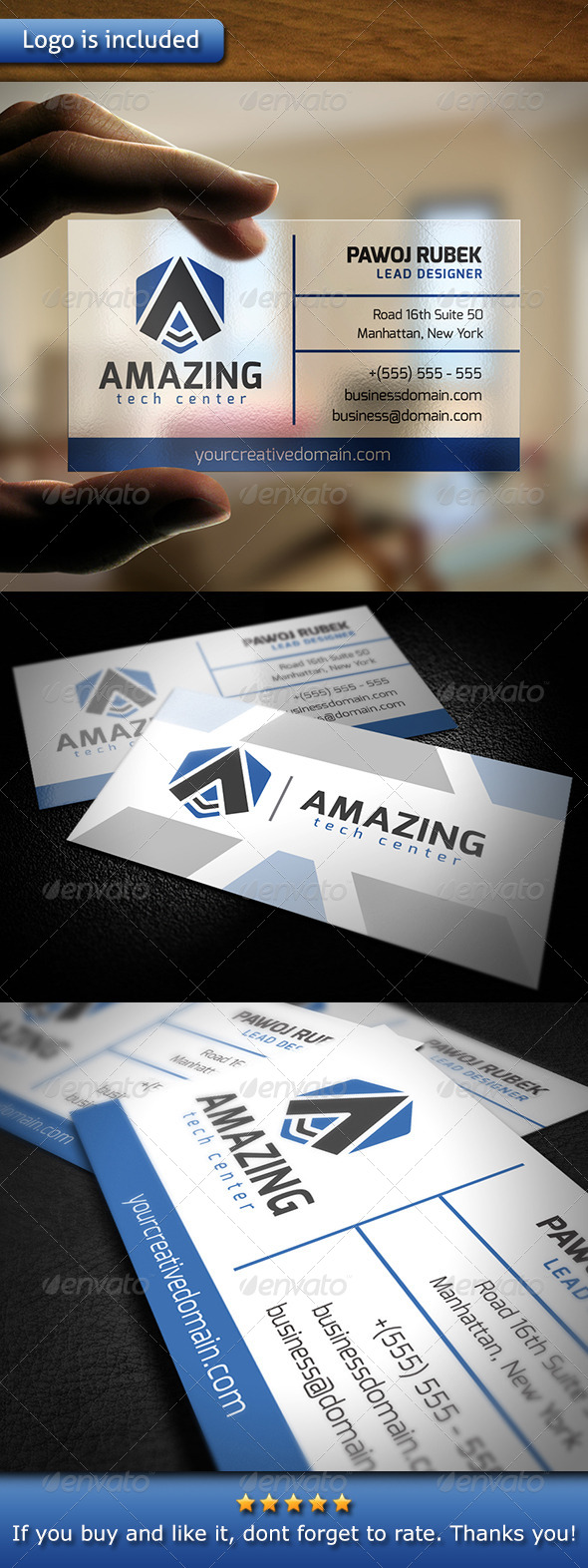 GraphicRiver Amazing Business Card 6068703