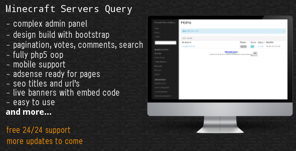 CodeCanyon Minecraft Servers Query 6051514