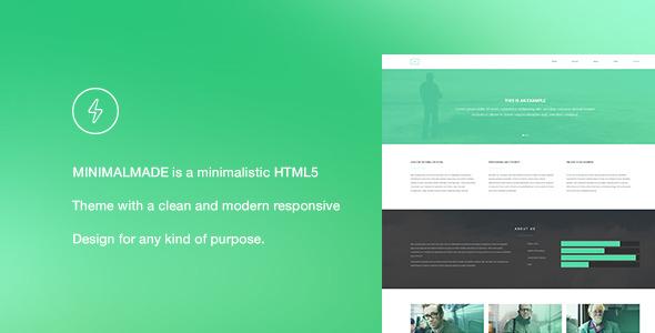 MINIMALMADE - Responsive HTML5 Landing Page