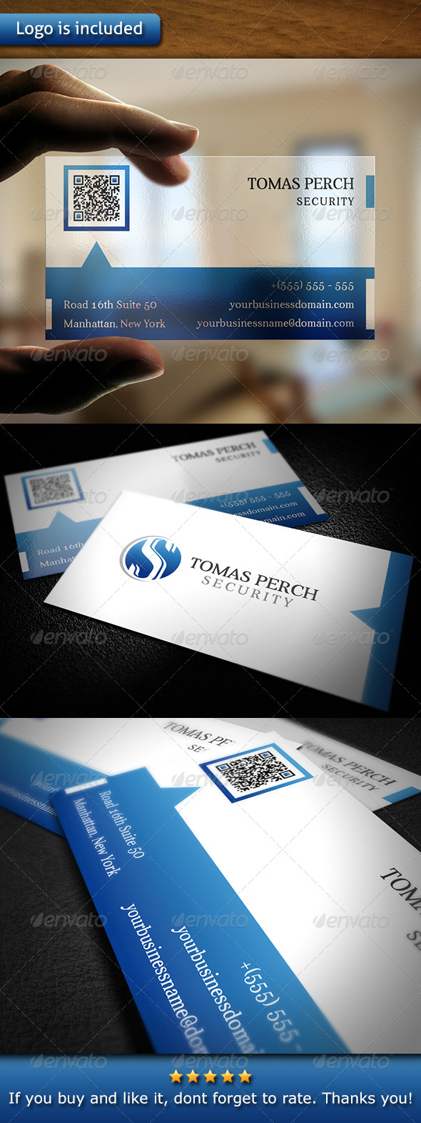 GraphicRiver Security Business Card 6069244