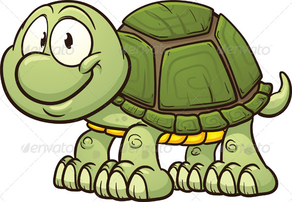 GraphicRiver Cartoon Turtle 6069255