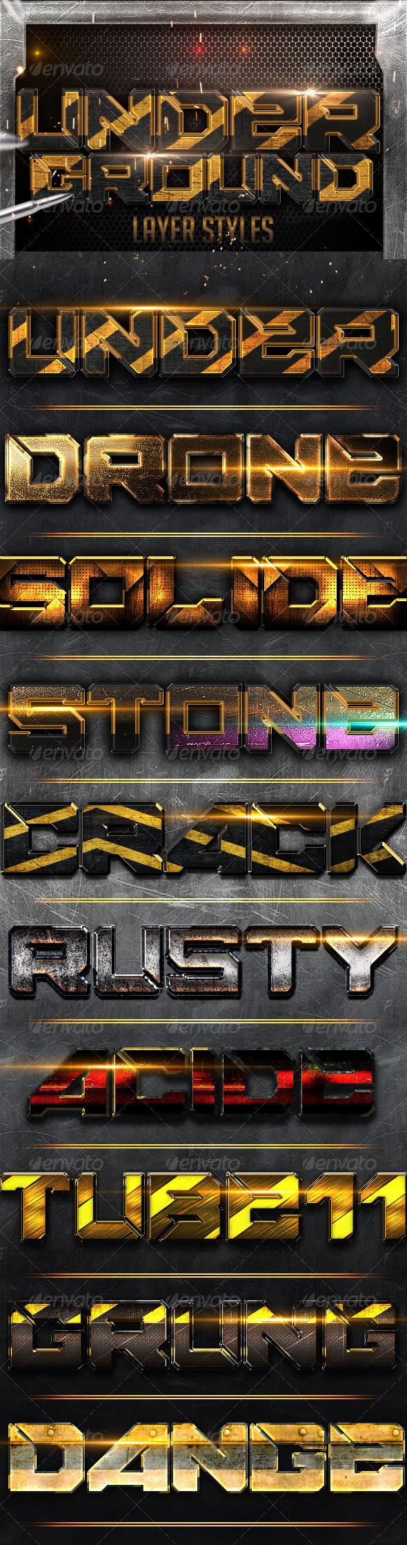 GraphicRiver Underground Styles 6069273