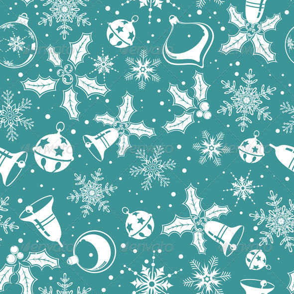 GraphicRiver Christmas Seamless Background 641752
