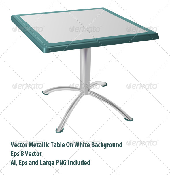 GraphicRiver Metal Table 6069486