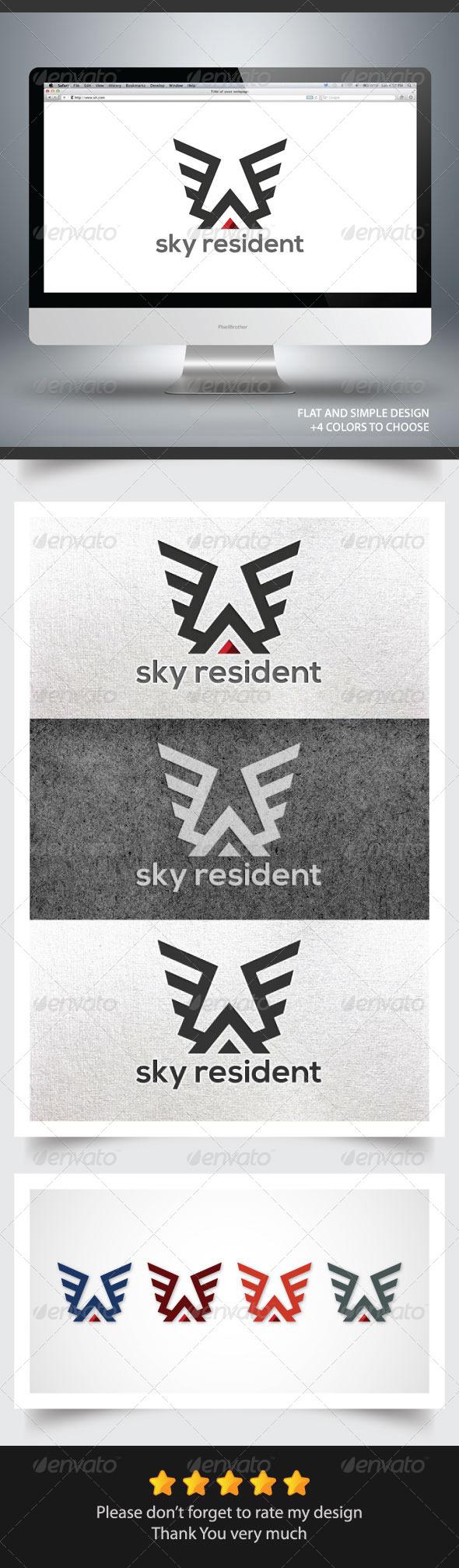 GraphicRiver Sky Resident 6069755