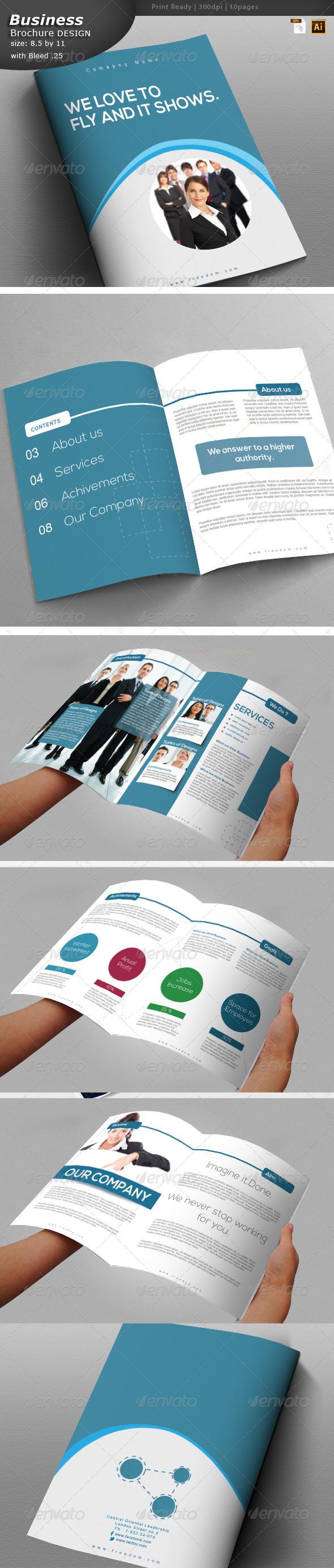GraphicRiver Services Brochure Design 6069773