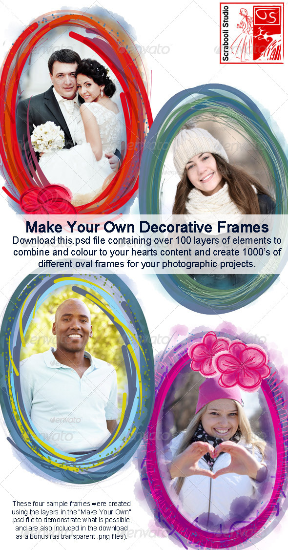 GraphicRiver Make Your Own Decorative Frames 6070699