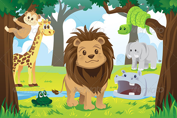 GraphicRiver Animal Kingdom 6070716