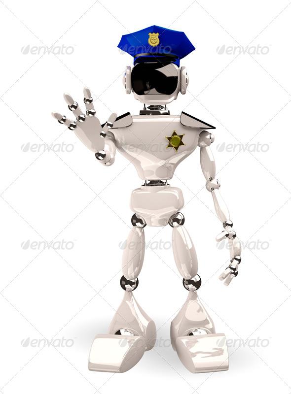 GraphicRiver police cap 6070769