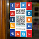 Social Media Poster Sign - GraphicRiver Item for Sale