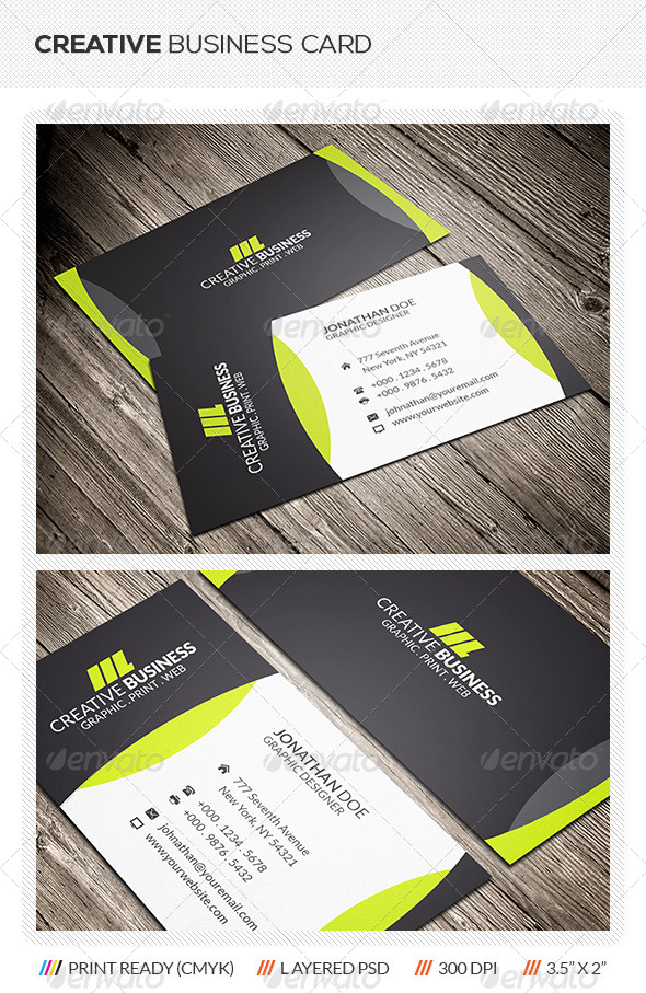 GraphicRiver Creative Corporate Business Card 6070926